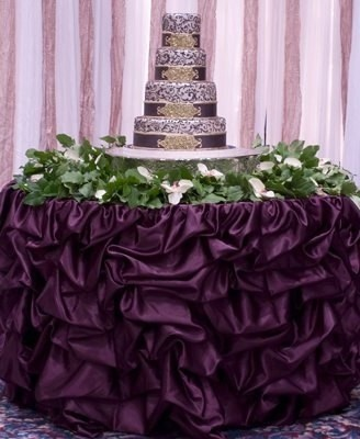 Your Choice 21ft Table Skirt (Available In Multiple Sizes And Colors)  Tablecloth