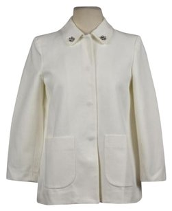 Zara Basic Womens Ivory White Jacket