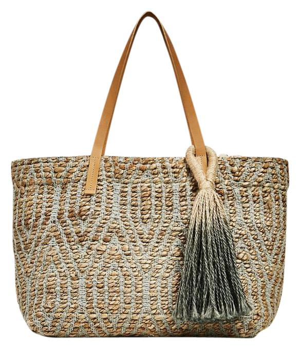 Zara Beach Bags - Up to 90% off at Tradesy