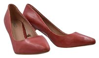 Zara Womens Marbled 388 Pointed Toe Stiletto Leather Heels Pink Pumps