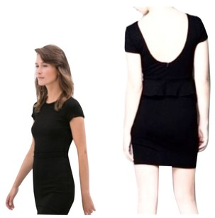 Zara short dress Lbd Bodycon Mini Scoop Back Stretchy on Tradesy