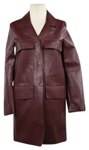 Zara Woman Womens Faux Brown Jacket