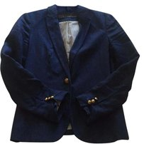 Zara Linen Royal Blue Blazer