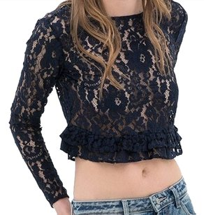Zara Top Navy