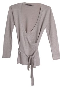 Zara Wrap Fitted Sweater Cardigan