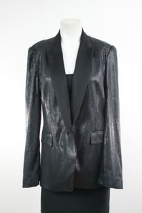 Zara Zara Woman Black Sequin Blazer Jacket