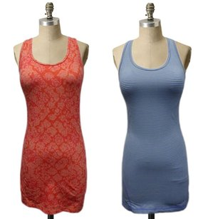 Zella Zella Racerback Tank Workout Top Or Gym Orange Or Blue Fitness